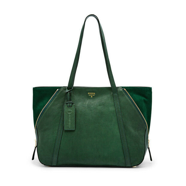 New Fossil Women Gwen Large Leather Tote Bags Variety Colors