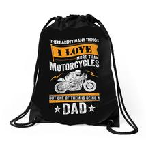 Motorcycles Dad Drawstring Bags - $30.00
