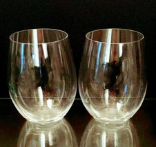 2 (Two) RIEDEL O Wine Tumblers Cabernet - Signed - $18.99