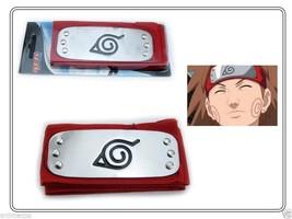 Naruto Red Leaf Village Kakashi Sasuke Sakura Konoha Ninja Headband with... - $4.94