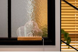 Mooas USB Wired Acryl LED Cloud Night Mood Lights Lighting Lamp Indoor Interior image 6
