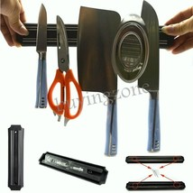 Magnetic Knife Utensil Tool Holder Wall Mount Kitchen Rack Storage Pub B... - $96.93