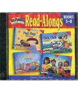 Dr. Maggie's Read-Alongs Books 5-8 Phonics Readers (2001, CD) Brand New - $1.33