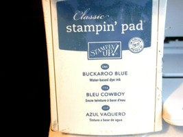 Stampin Up! Buckaroo Blue Pigment Ink Pad New - $14.75