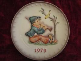 1979 Goebel Hummel collector plate SINGING LESSON - $24.99