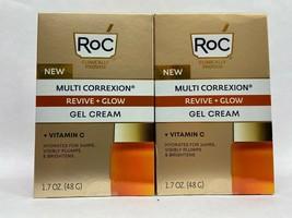 2 ROC MULTI CORREXION REVIVE+GLOW GEL CREAM 1.7OZ - $28.03