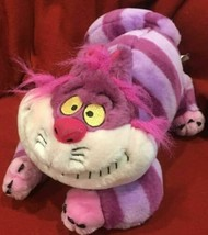 """Disney Store Cheshire Cat Alice in Wonderland Plush Stuffed Hot Pink 12""""... - $15.80"""