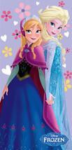 "Frozen Towel Disney Elsa Anna Beach Pool Souvenir FULLY LICENSED!!! 28""x58"" - $15.00"