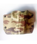 Kydex Camouflage Holster 1911 w/o Rail Right Draw OWB w/ Belt Loops  NWT - $29.00