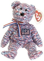Ty Beanie Baby USA Bear 6th Generation Hang Tag 2000 NEW - $5.04
