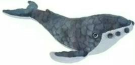 "Wild Republic CK Humpback Whale 15"" Plush Toy Stuffed Animal Children's BLM - $16.34"