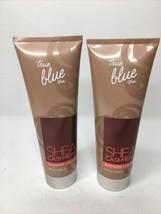 Bath and Body Works True Blue Spa SHEA CASHMERE SHOWER CREAM ~ 8 oz. x 2... - $34.55