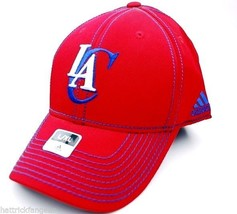 Los Angeles Clippers adidas NBA Basketball Team Stretch Fit Cap Hat L/XL - $18.99