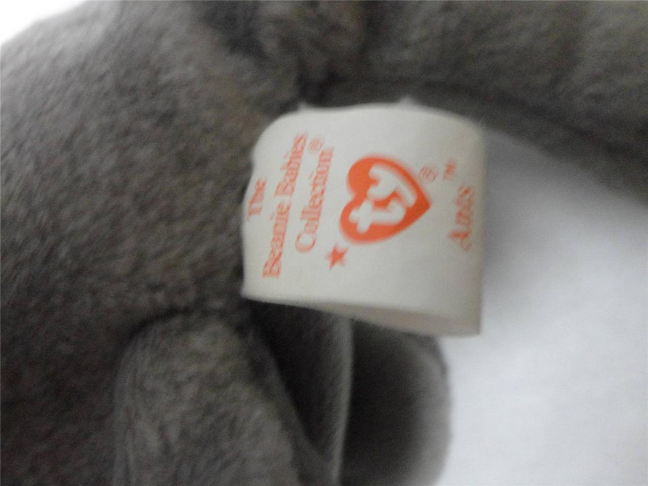 TY Beanie Babies Roary 1996 Ants 1997 Wise 1997 Goochy 1998 wtih Tags Lot of 4