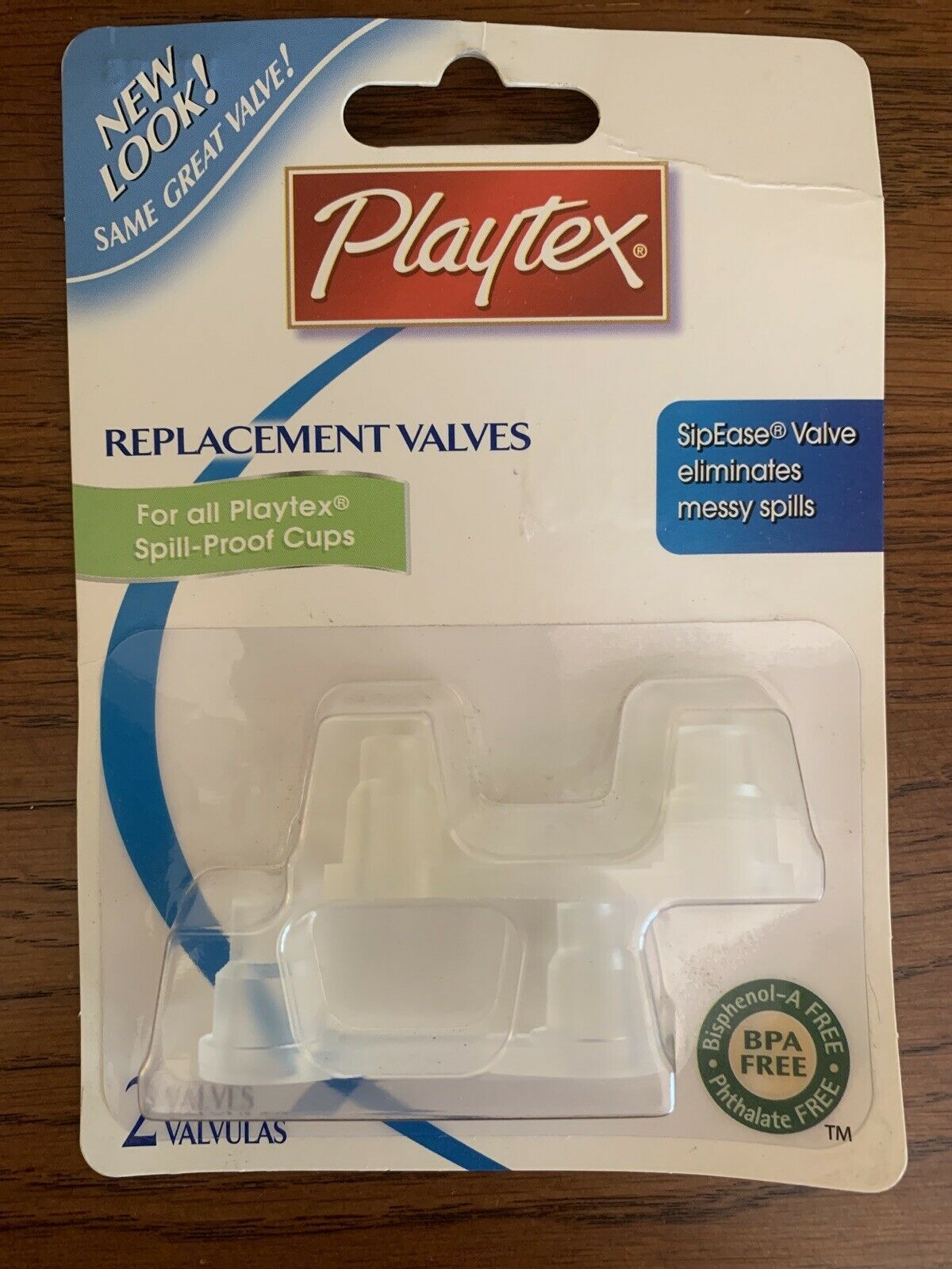 Primary image for Playtex Replacement Valves SipEase Spill Proof Cups Horizontal Old Style 2 Valve