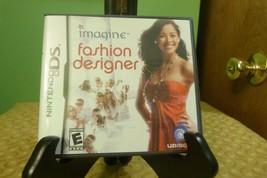 Imagine: Fashion Designer (Nintendo DS, 2007) VG Condition - $7.91