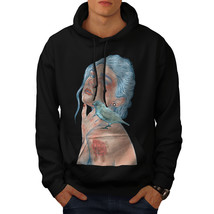 Girl Bird Art Fashion Sweatshirt Hoody  Men Hoodie - $20.99+