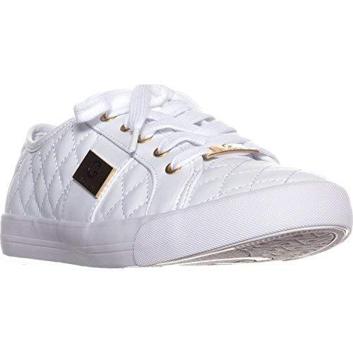 G by GUESS Backer2 Women's Lace-up Sneakers Shoes (7.5, White)