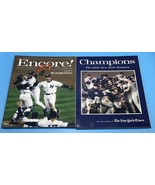 SET OF 2 The 1998 New York Yankees Champions & Encore! 25th The New York... - $14.45