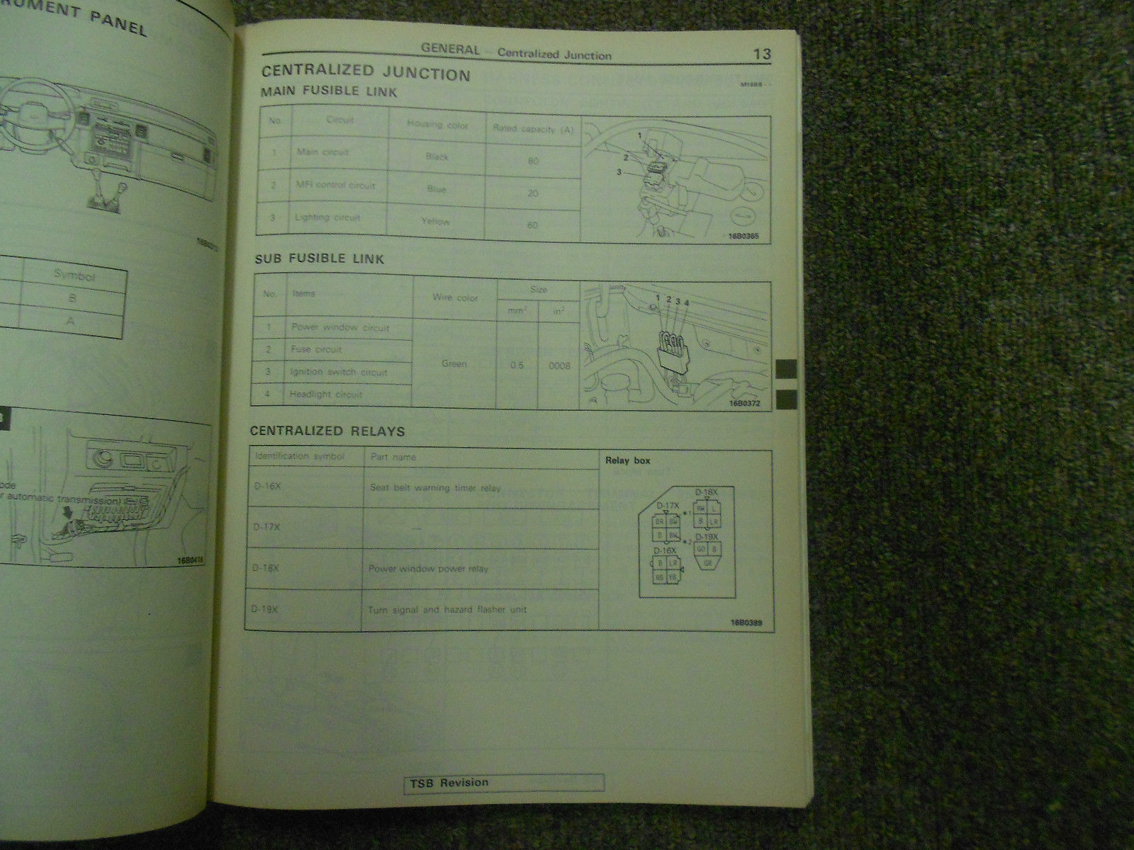 1992 1996 MITSUBISHI TRUCK Service Reoair Shop Manual VOLUME 2 FACTORY OEM 92 96 image 8