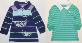 Old Navy Girls 3/4 Sleeve Polo Shirts 2 Choices Sizes XSmall 5 and Small... - $7.79