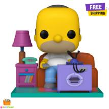 Funko Pop! Deluxe: Simpsons Homer Watching TV Collectible Vinyl Figure F... - $46.99