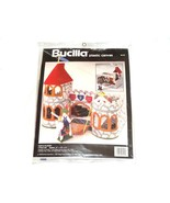 NEW 1994 BUCILLA Plastic Canvas Castle Playset 6113 Knight Princess Draw... - $49.57