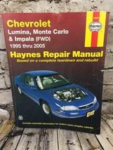 Chevrolet Lumina, Monte Carlo & Impala (FWD) 1995 thru 2005 Haynes Repai... - $8.60