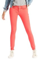 Levi's 710 Women's Premium Super Skinny Jeans Leggings Deep Sea Coral 17... - $39.56