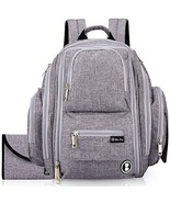Diaper Backpack by Bliss Bag for Girls, Boys, Twins, Infants, Moms & Dad... - $96.31