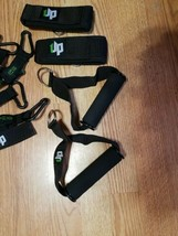 UPOWEX Unbreakable Resistance Bands Set – 5 Stackable Exercise Bands NEW image 2