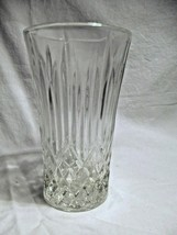 set of 8 FOSTORIA Glass Clear Crystal BENNINGTON HiBall glasses (new old... - $38.99