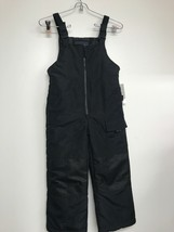 LONDON FOG® Little Boys Black Snowbibs  Size 5/6 - $17.85