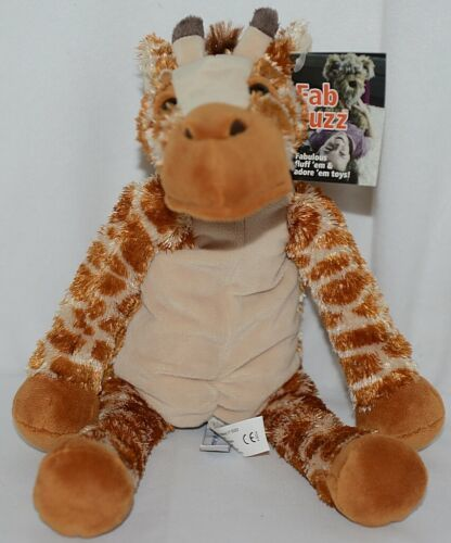 Mary Meyer Brand Fab Fuzz Collection 55460 Brown Tan Print Color JoJo Giraffe