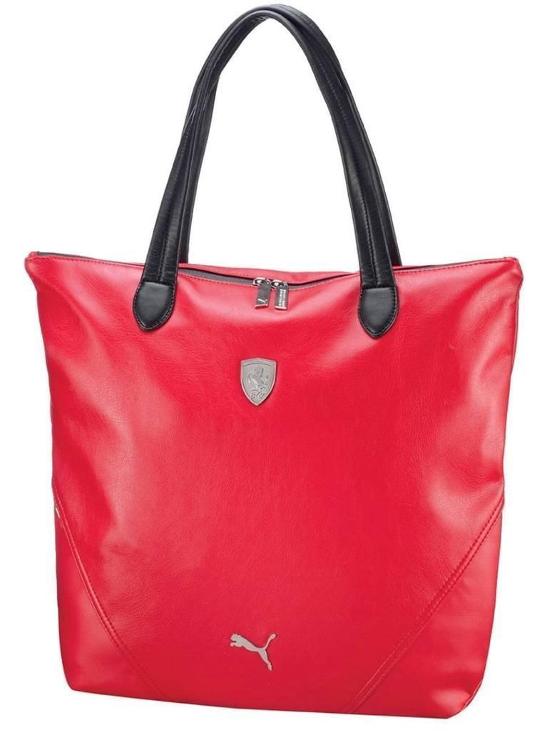df1f304ae3 PUMA FERRARI WOMEN S F1 TEAM SHOPPING TOTE LARGE BAG RED PMMO1033 NEW W   DEFECTS -  60.94