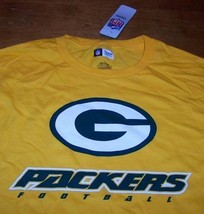 Green Bay Packers Nfl Football T-Shirt Large New - $19.80
