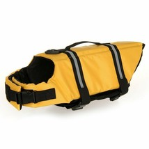 Dog Life Jacket Adjustable Dog Lifesaver Safety Reflective Vest Pet Life... - $14.84