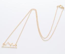 Origami Snow Mountain Necklaces & Pendants Mountain Range Pendant Necklace image 6