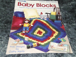 Baby Blocks by Cathy Hardy Leaflet 2055 - $3.99