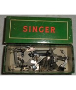 Singer 301A Six Slant Shank Attachment/Feet In Box Used Works - $15.00