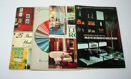 MCM 4 Doubleday Home Decorating Program Books, Gardens Antiques Rooms, 1968 - $23.38