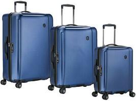 Travelers Choice Halow 3-piece Hardside Spinner Luggage Set | Blue - $222.84
