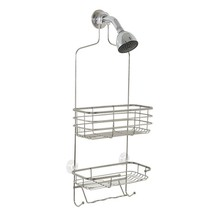 Shower Caddy Stainless Steel Shelf Bathroom Tub... - $21.66