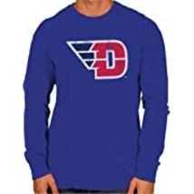 Original Retro Brand NCAA Mens Mens L/S Sleeve Tee Size S Royal Blue Dayton Flye - $29.99