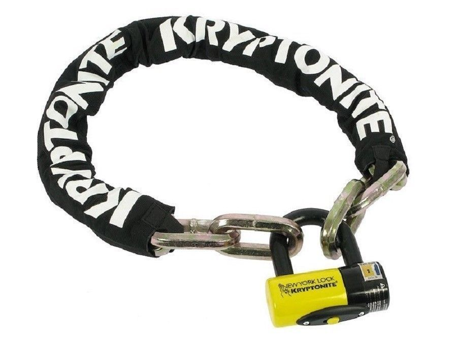 New Kryptonite New York Fahgettaboudit 5' 14mm Security Chain and 15mm Lock