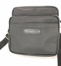 Kenneth Cole Reaction Black PVC Crossbody Shoulder Bag - $41.65