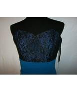 Sorella Vita Style 8376 Strapless  Sz 12 Bridesmaid/Cocktai/Prom Dress Teal - $12.00