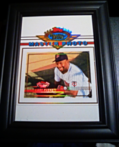 """1993 Topps Kirby Puckett Stadium Club Master Photo in 7"""" x 9"""" Picture Frame - $14.99"""