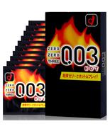 Okamoto Condom 003 0.03mm Hot Play Zero Three Ultra Thin 10pcs/1box (US ... - $13.99