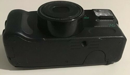 Canon Sure Shot Mega Zoom 76 35mm Film Camera 2x Zoom Canon Zoom Lens 38-76mm
